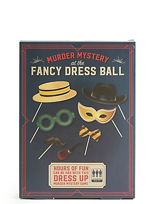 Murder Mystery at the Fancy Dress Ball, , catlanding