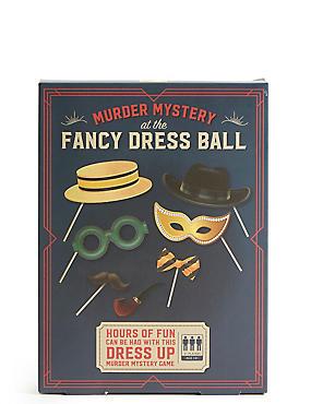 Murder Mystery at the Fancy Dress Ball, , catlanding