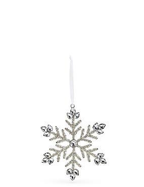 Silver Jewel Snowflake, , catlanding