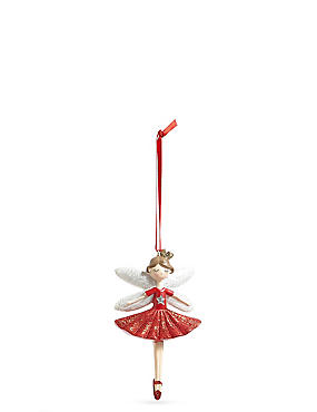 Red Fairy Bauble, , catlanding