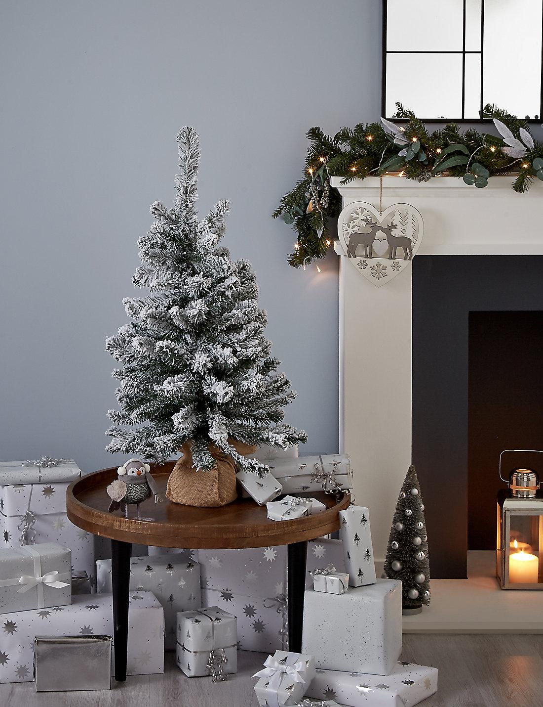 3ft snowy christmas tree - 3 Ft Christmas Tree