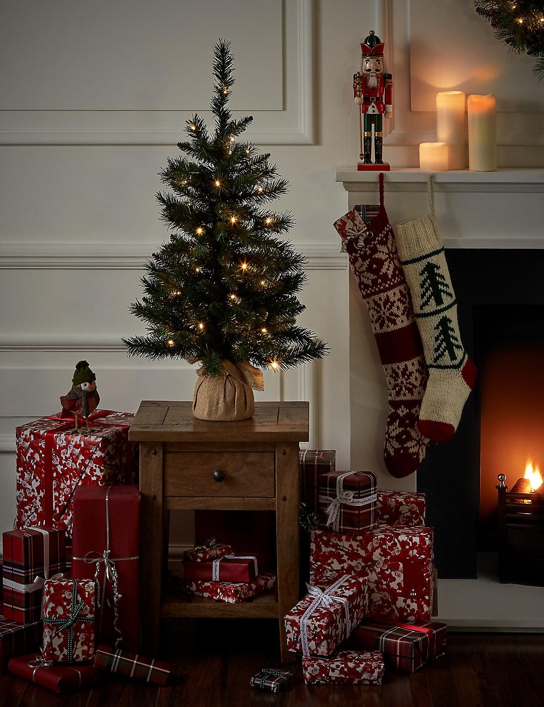 3ft pre lit christmas tree - 3 Ft Christmas Tree