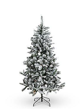 6Ft Snowy Christmas Tree, , catlanding