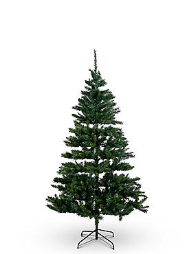 7ft Pre Lit Christmas Tree, , catlanding