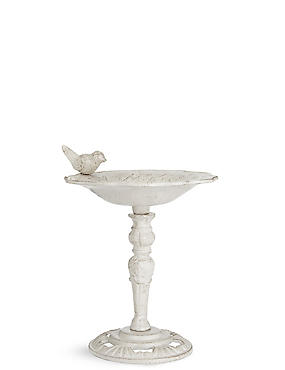 Mini Bird Bath, , catlanding