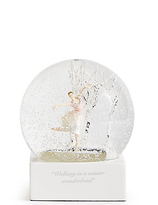 Ballerina Snow Globe, , catlanding