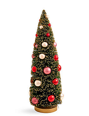 39cm Table Top Boutique Tree with Baubles , , catlanding