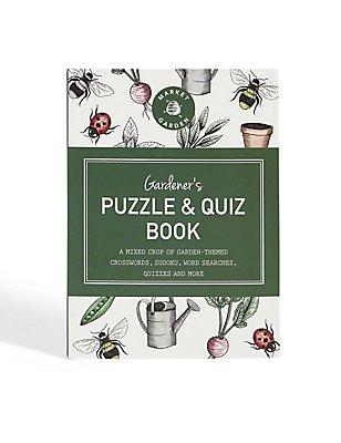Gardener's Puzzle & Quiz Book, , catlanding