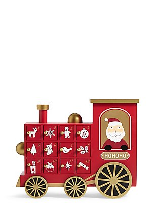 Santa Train Advent Calendar, , catlanding