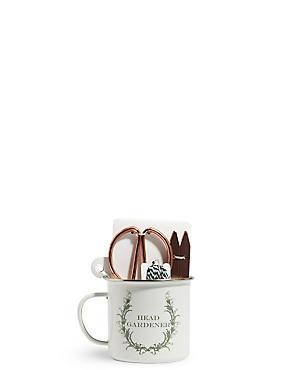Copper Gardener's Mug Gift Set, , catlanding