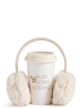 Travel Mug & Ear Muff Set, , catlanding