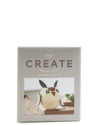 Crochet Owl, , catlanding