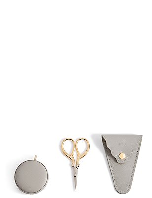 Mini Tape Measure & Scissors, , catlanding