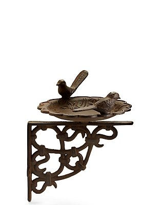 Wall Bird Bath, , catlanding