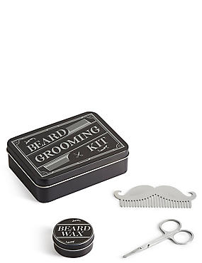 Men's Beard Grooming Kit, , catlanding