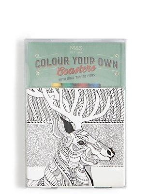 Colour Your Own Coaster, , catlanding