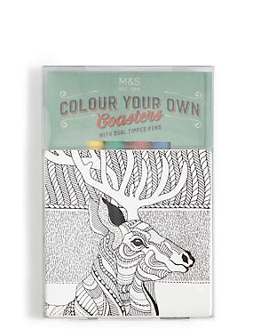 Colour Your Own Coaster, , catlanding