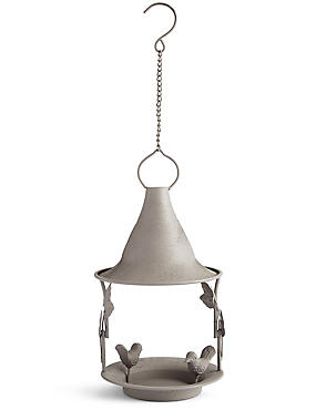 Steel Bird Feeder, , catlanding