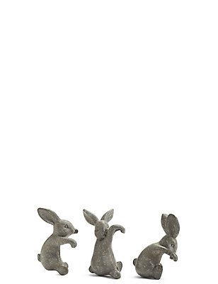 Set of 3 Bunnies, , catlanding