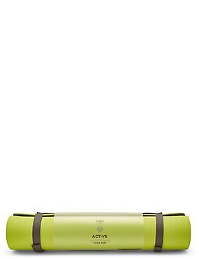 Yoga Mat, LIME, catlanding