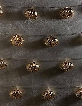 20 LED Champagne Vintage Style Lights, , catlanding