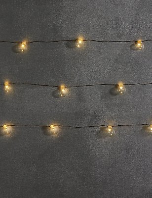 12 LED Mini Festoon Lights, , catlanding