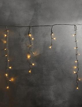 300 Warm White Icicle Lights, , catlanding