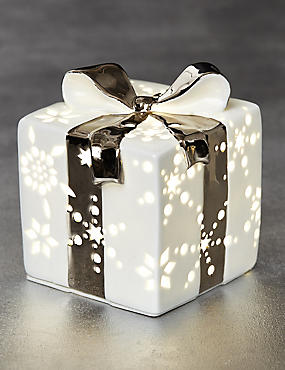 Boîte cadeau lumineuse en céramique, , catlanding