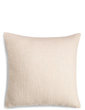 Bantry Weave Cushion, IVORY, catlanding