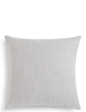 Bantry Weave Cushion, LIGHT GREY, catlanding