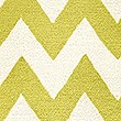 Over Scale Chevron Rug, OCHRE, swatch