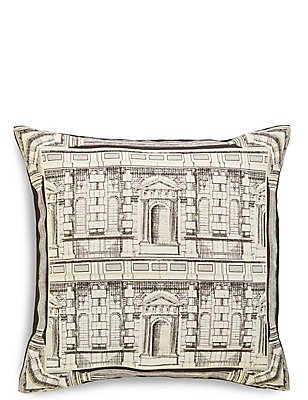 House Metallic Jacquard Cushion, , catlanding