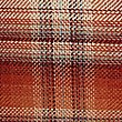 Cosy Checked Cushion, TERRACOTTA MIX, swatch