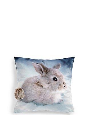 Bunny Cushion, , catlanding