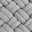 Jersey Weave Cushion, GREY MARL, swatch