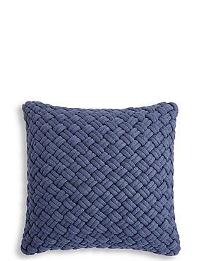 Jersey Weave Cushion, , catlanding