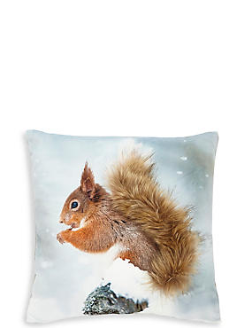 Mini Squirrel Cushion, , catlanding