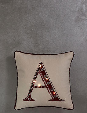 Mini Alphabet Light-up Cushion A, , catlanding