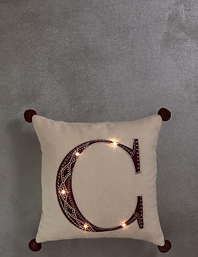 Alphabet Light-up Cushion C, , catlanding