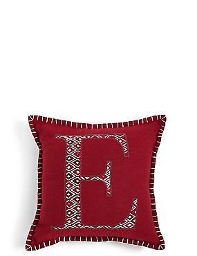 Mini Alphabet Light-up Cushion E, , catlanding