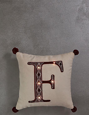 Mini Alphabet Light-up Cushion F, , catlanding