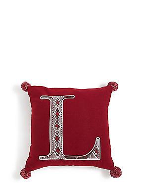 Mini Alphabet Light-up Cushion L, , catlanding