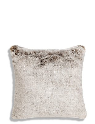 Faux Fur Cushion, , catlanding