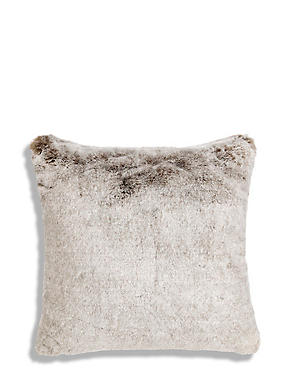 Faux Fur Cushion, , catlanding