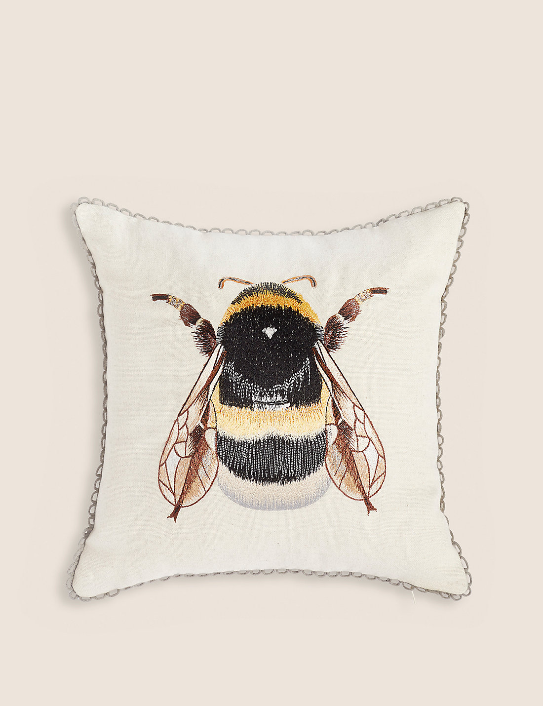 Bumble bee embroidery designs car pictures - Bumblebee Embroidered Cushion