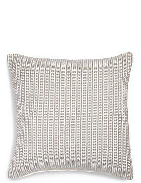 Woven Striped Cushion, GREY MIX, catlanding