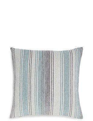 Stripe Cushion, DUCK EGG, catlanding