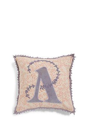 Alphabet A Cushion, , catlanding