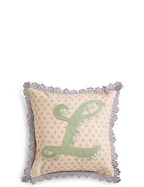 Alphabet L Cushion, , catlanding
