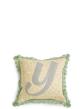 Alphabet Y Cushion, , catlanding
